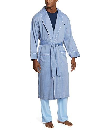 Nautica Men's Long Sleeve Lightweight Cotton Woven...