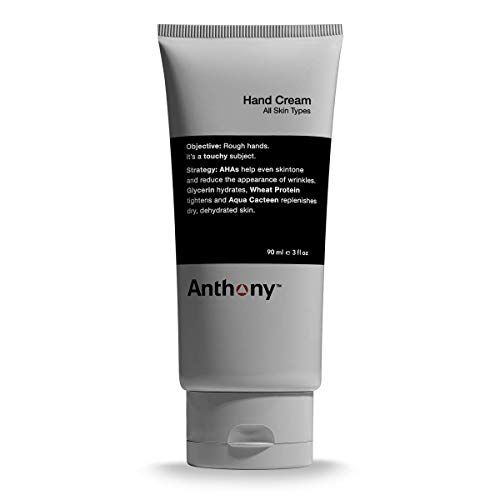Anthony Hand Cream, 3 Fl Oz. Contains AHA's,...