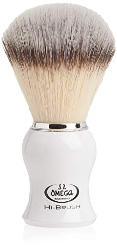 Omega 0146745 HI-Brush Synthetic Shaving Brush