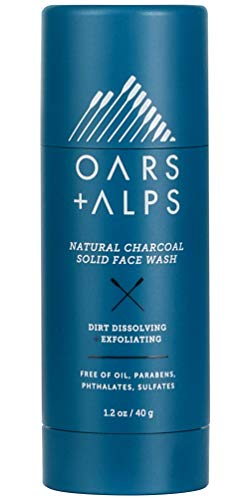 Oars + Alps Natural Solid Face Wash | No Spills,...