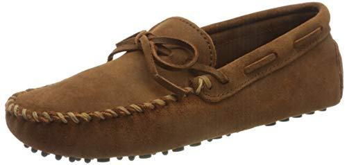 Minnetonka Men's Original Cowhide Driving Moccasin