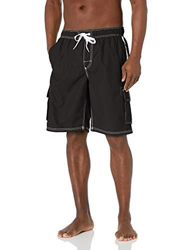 Kanu Surf Men's Barracuda Swim Trunks (Regular &...