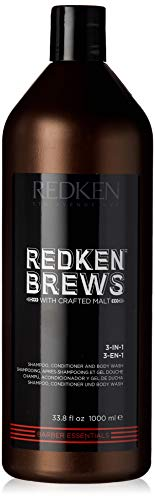 Redken Brews 3-in-1 Shampoo For Men, Shampoo,...