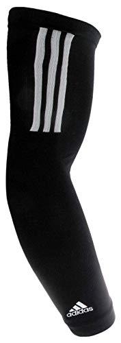 adidas Compression Arm Sleeve, Black/White,...