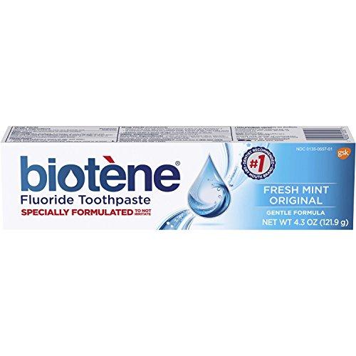 Biotene Fresh Mint Original Fluoride Toothpaste,...