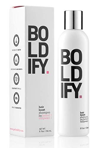 BOLDIFY Hair Boost Thickening Shampoo - Natural...