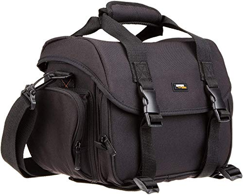 AmazonBasics Large DSLR Camera Gadget Bag - 11.5 x...