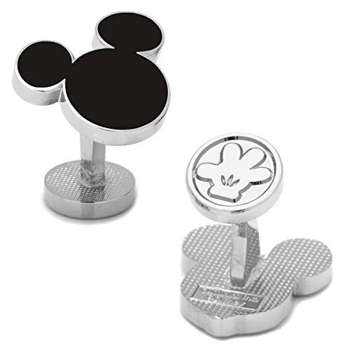 Disney Men's Mickey Mouse Silhouette Cufflinks...