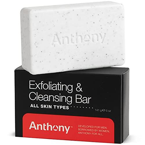 Anthony Mens Soap Bar Exfoliating Soap: 5 Oz,...