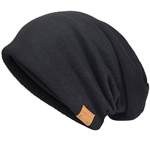 VECRY Men's Cool Cotton Beanie Slouch Skull Cap...