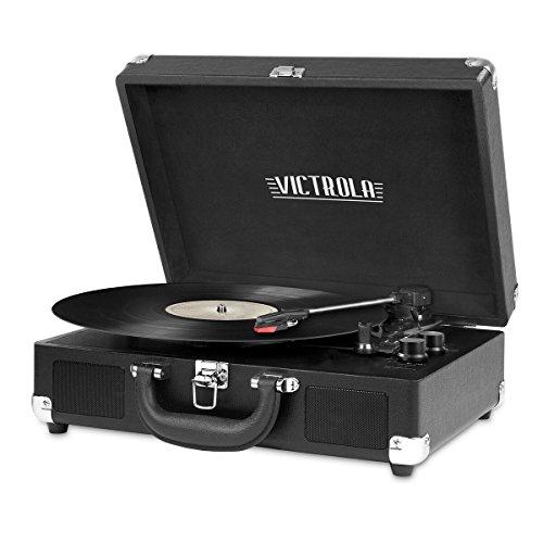 Victrola Vintage 3-Speed Bluetooth Portable...