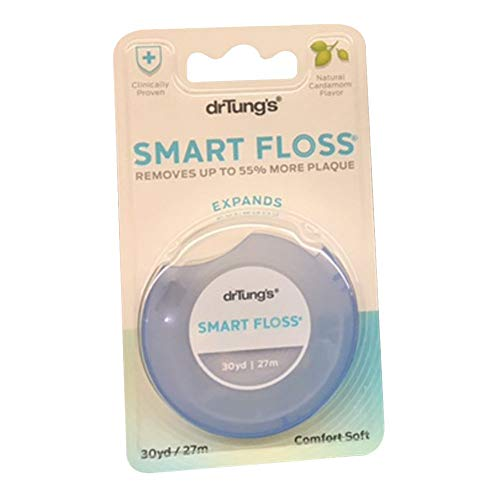Dr. Tung's Smart Floss, 30 yds, Natural Cardamom...