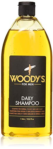 Woody's Daily Shampoo for Men, New Size, For All...