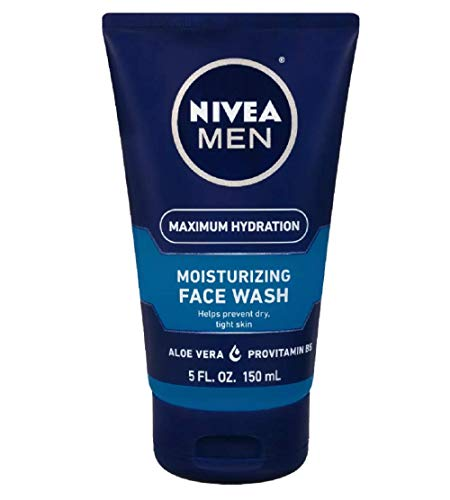 Nivea Men Max Hydration Moisturizing Face Wash, 5...