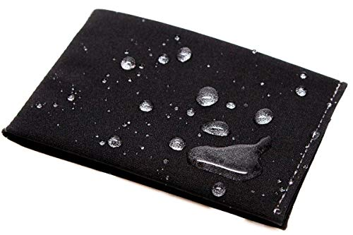 SlimFold Minimalist RFID Wallet - Thin, Durable,...