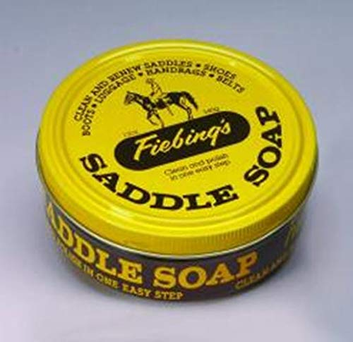 Fiebing's Yellow Saddle Soap, 12 Oz. - Cleans,...