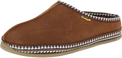 Deer Stags Men's Wherever Slipper, Chestnut, 12 M...