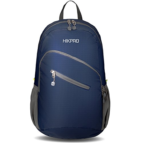 Hikpro Ultralight Packable Travel Backpack - Navy...