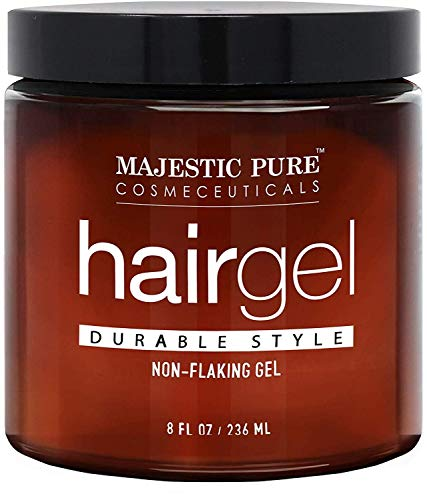 MAJESTIC PURE Hair Gel for Men - Durable Hold...