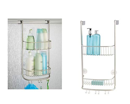 iDesign Forma Bathroom Over the Door Shower Caddy...