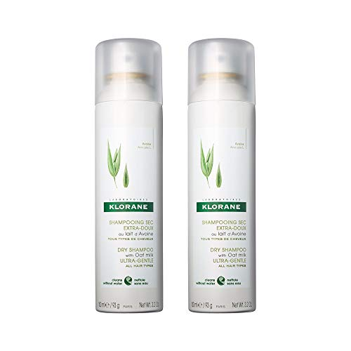 Klorane Dry Shampoo with Oat Milk, Ultra-Gentle,...
