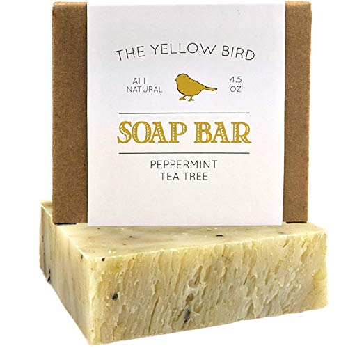 Peppermint & Tea Tree Soap Bar. All Natural...