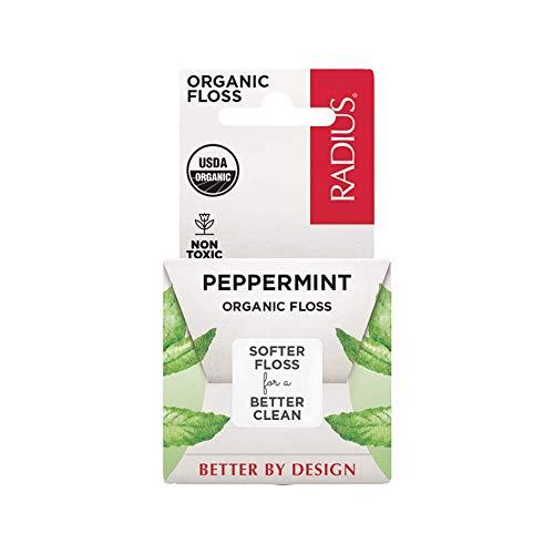 RADIUS Organic Floss, Peppermint, 55 Yards, 1...