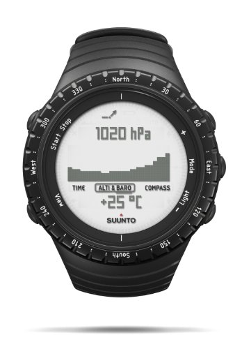 Suunto Core Regular Black Digital Display Quartz...
