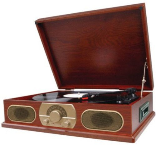 Spectra Studebaker Wooden Turntable with AM/FM...