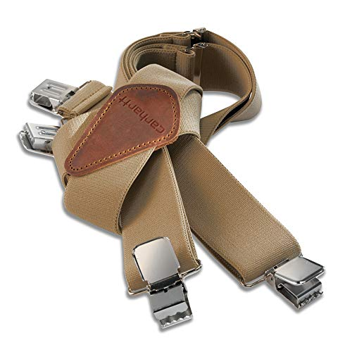 Carhartt Men's Utility Suspender, Khaki