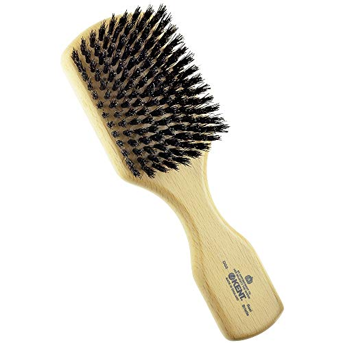 Kent OG2 Beechwood Hair Brush and Facial Brush for...