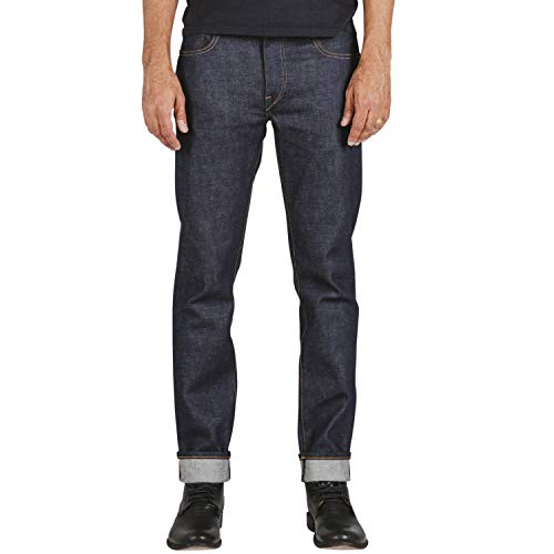 HIROSHI KATO Slim fit Jeans The Pen 14 oz Indigo...