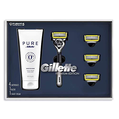 Gillette Fusion Proshield Shave Gift Set for Men -...