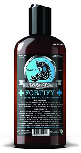 Bossman Fortify Intense Beard Conditioner to Grow...