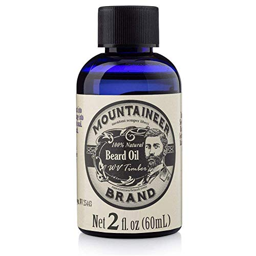 Beard Oil by Mountaineer Brand, WV Timber, Scented...