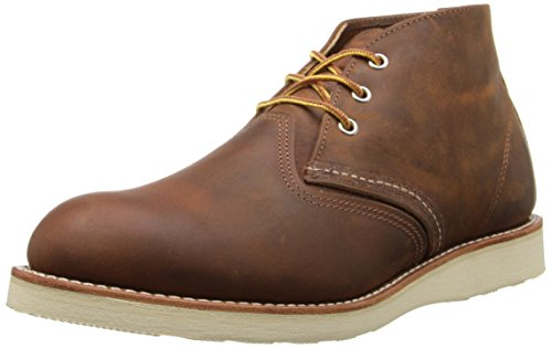 Red Wing Men's Heritage Work Chukka Boot, Copper...