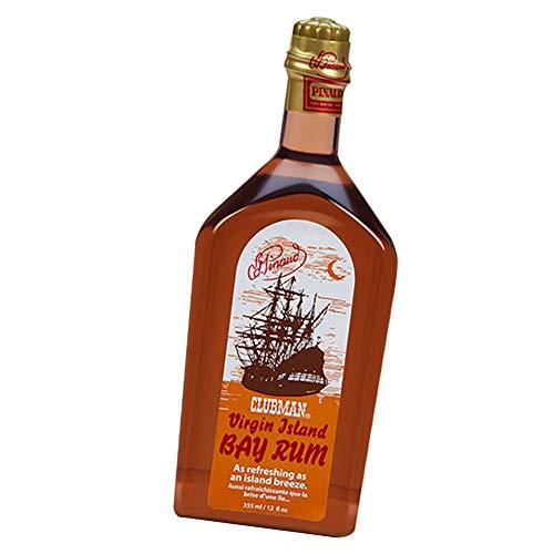 Clubman Pinaud Virgin Island Bay Rum Cologne, 12...