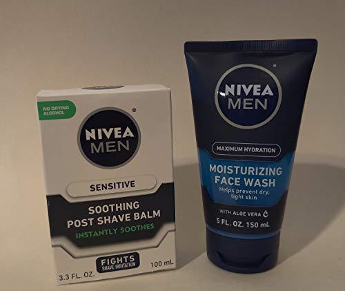 Nivea Men NIVEA FOR MEN Sensitive Post Shave Balm,...