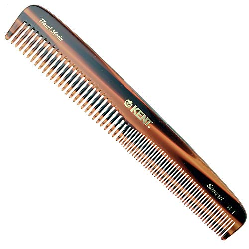Kent 9T Pocket Comb & Hair Straightener - Wide...