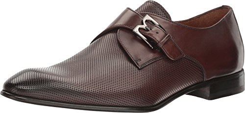 Bruno Magli Men's Vitale Dark Brown Perf Loafer