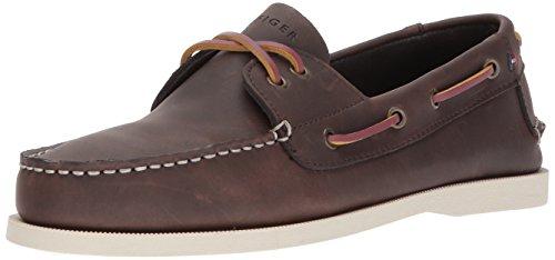 Tommy Hilfiger Men's Bowman Boat shoe,Coffe...