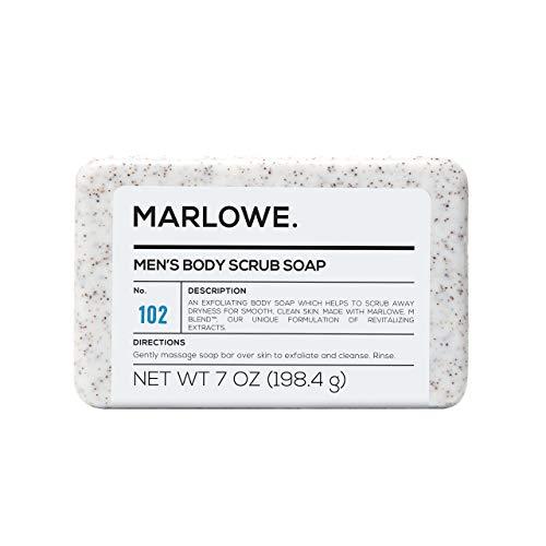 MARLOWE. No. 102 Men's Body Scrub Soap 7 oz | Best...