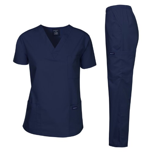 Dagacci Scrubs Medical Uniform Men Scrubs Set...