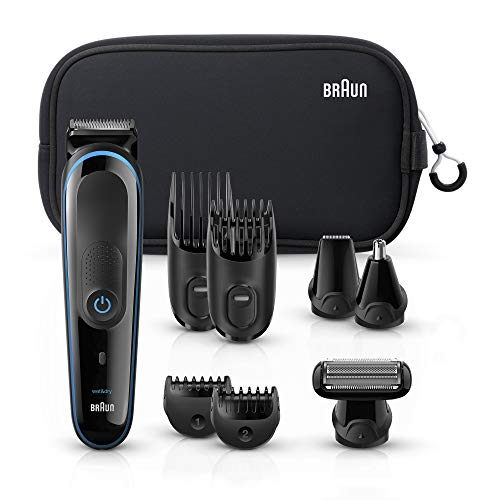 Braun Hair Clippers for Men MGK3980, 9-in-1 Beard...