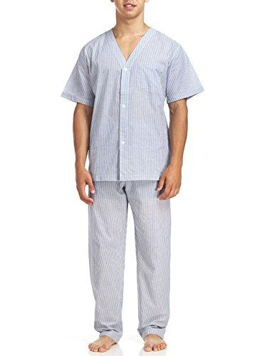 Geoffrey Beene Men's Short Sleeve Printed Pajama...
