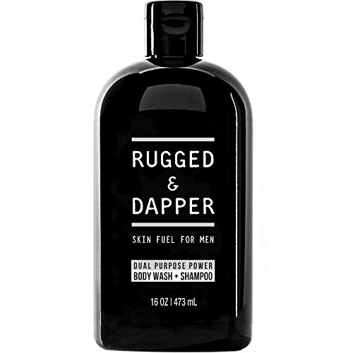 RUGGED & DAPPER Dual-Purpose Body Wash and Shampoo...