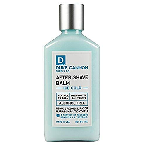 Duke Cannon Men's Ice Cold After-Shave Balm, 6oz...