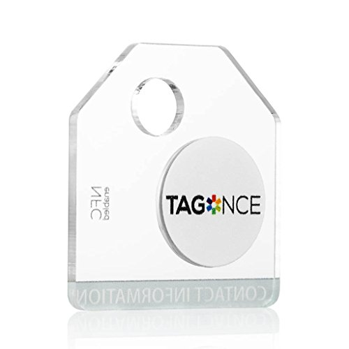 Tagonce Luggage Tag | Color: Clear
