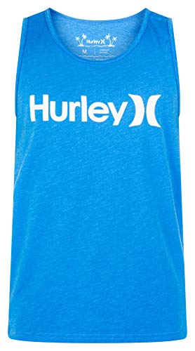 Hurley Men's One and Only Graphic Tank Top, LT...