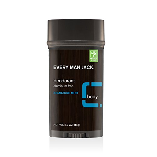Every Man Jack Deodorant, Signature Mint,...